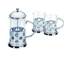 Cafeti re piston french press bulle litre 2 mugs - Utilisation cafetiere a piston ...