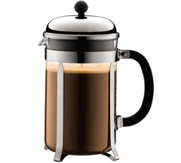 Bodum Chambord polished steel French Press - 1.5L