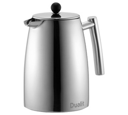Cafetière à double piston Dualit double paroi inox - 880ml