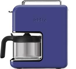 Cafetière filtre Kenwood Kmix CM030BL Bleue Roi 6 tasses + offre cadeaux