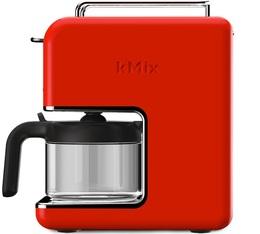Cafetière filtre Kenwood Kmix CM030RD Rouge Vermillon 6 tasses + offre cadeaux