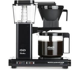 Cafetière filtre Moccamaster KBG741 Noir 1.25L + Offre cadeaux