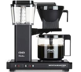 Cafetière filtre Moccamaster KBG741 Noir mat 1.25L + offre cadeaux