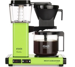 Cafetière filtre Moccamaster KBG741 Vert pomme 1.25L + offre cadeaux