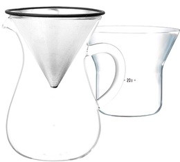 Kinto manual coffee maker SCS-02-CC-ST 300ml