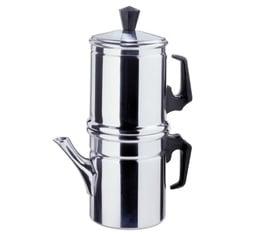 Cafetière napolitaine réversible lisse - ILSA - 1/2 tasses