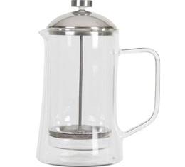 Cafetière à piston double paroi 8 tasses 1L