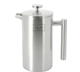 Cafetière à piston Melitta Deluxe double paroi inox 3 tasses