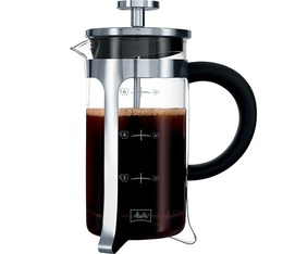 Cafetière à Piston Melitta Inox Micro-ondable 8 tasses