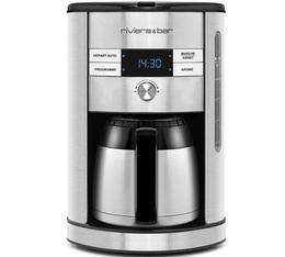 Cafetière filtre Riviera et Bar BCF560 programmable isotherme + offre cadeaux