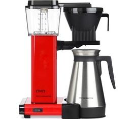 Cafetière filtre Moccamaster KBGT rouge avec verseuse isotherme 1.25L + offre cadeaux