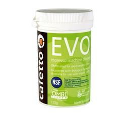 Nettoyant en poudre organique EVO 125gr pour machine expresso - Cafetto