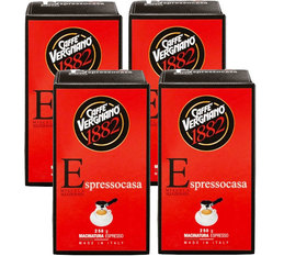 Caffè Vergnano 'Espresso Casa' ground coffee - 4 x 250g