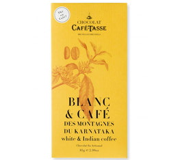 Café-Tasse White Chocolate Bar with Coffee - 85g