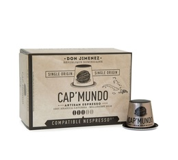 Cap'Mundo Don Jimenez single origin coffee capsules for Nespresso x 10