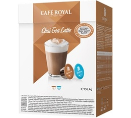 Capsules Dolce Gusto® compatibles Café Royal Chai Tea Latte x 16