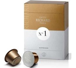 Capsules Cafés Richard N°1 x24 - Expresso