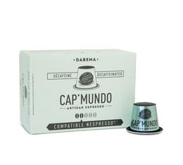 Capsules Décaféiné Dabema x100 CapMundo pour Nespresso