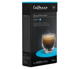 Decafeinato x10 Caffè Caffesso compatible Nespresso