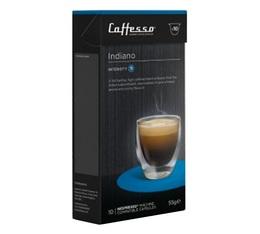 Indiano x200 Caffè Caffesso compatible Nespresso