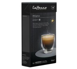 Milano x10 Caffè Caffesso compatible Nespresso