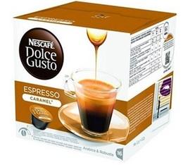 16 capsules Nescafe Dolce Gusto Espresso Caramel