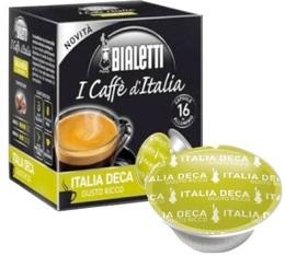 Capsules Mokespresso Bialetti 'Italia Deca' Arabica/Robusta x 16
