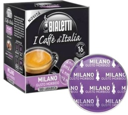 Capsules Mokespresso Bialetti 'Milano' 100% Arabica x 16