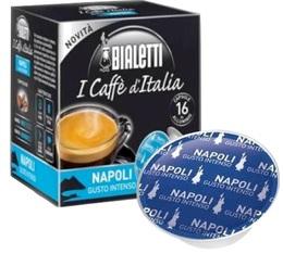 Capsules  Mokespresso Bialetti 'Napoli' Arabica/Robusta x 16