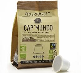 Capsules Bio & Compost Combawa x10 CapMundo pour Nespresso