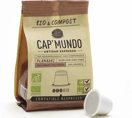 Capsules Bio & Compost Planadas x10 CapMundo pour Nespresso