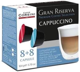 Capsules Gran Riserva Cappuccino (8 boissons) - Caffè Corsini pour Dolce Gusto