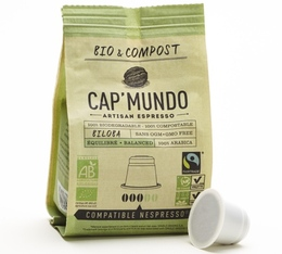 Capsules Bio & Compost Biloba x10 CapMundo pour Nespresso