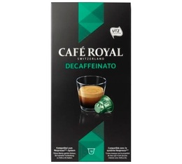 Capsules Café Royal Decaffeinato x 10 pour Nespresso