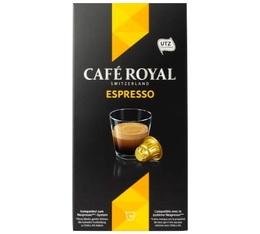 Capsules Café Royal Espresso x 10 pour Nespresso