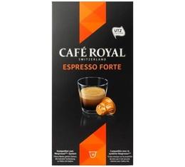 Capsules Café Royal Espresso Forte x 10 pour Nespresso