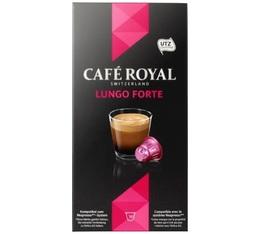Capsules Café Royal Lungo Forte x 10 pour Nespresso