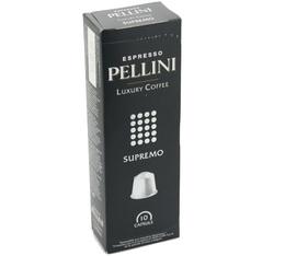 Capsules Pellini Supremo x10 pour Nespresso
