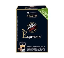 Caffé Vergnano Espresso Arabica compostable capsules for Nespresso x 10