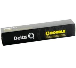 Capsules DeltaQ Double (anciennement Power Coffee) Delta Cafés x10