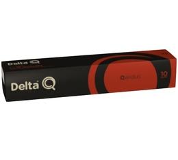 Capsules DeltaQ Qalidus Delta cafés x10