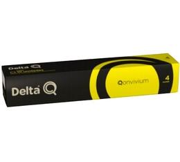 Capsules DeltaQ Qonvivium delta cafés x10