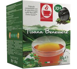 Capsules Dolce Gusto® compatibles Tisane Bien-Être x10