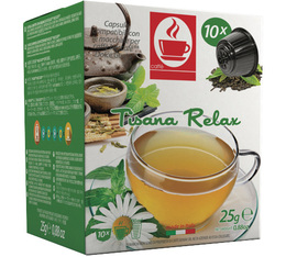 Capsules Nescafe® Dolce Gusto® compatibles Tisane Relax x10