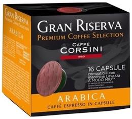 Capsules Gran Riserva Arabica x16 - Caffè Corsini pour Lavazza a Modo Mio
