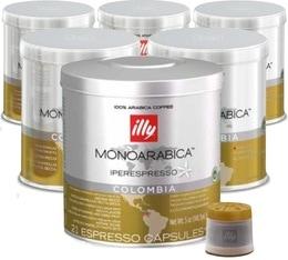 126 x Capsules illy Iperespresso Monoarabica Colombie