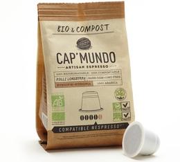 Capsules Bio & Compost Kolli LongBerry - x10 CapMundo pour Nespresso