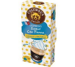 Capsules Saveur Con Pana Columbus Café & Co x10 pour Nespresso