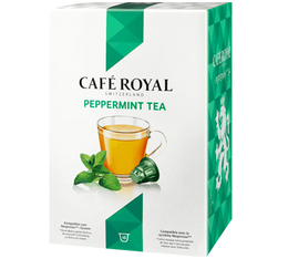 10 Capsules Thé Vert Menthe compatibles Nespresso - Café Royal