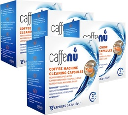 Caffenu cleaning capsules for Nespresso machines (4 boxes)